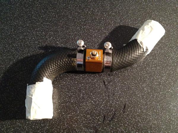 Kühlwassertemperatur Adapter + Sensor