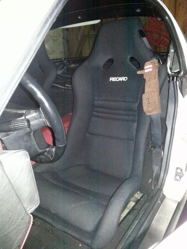 Recaro RS-Limited Sitze - Dank an Tino